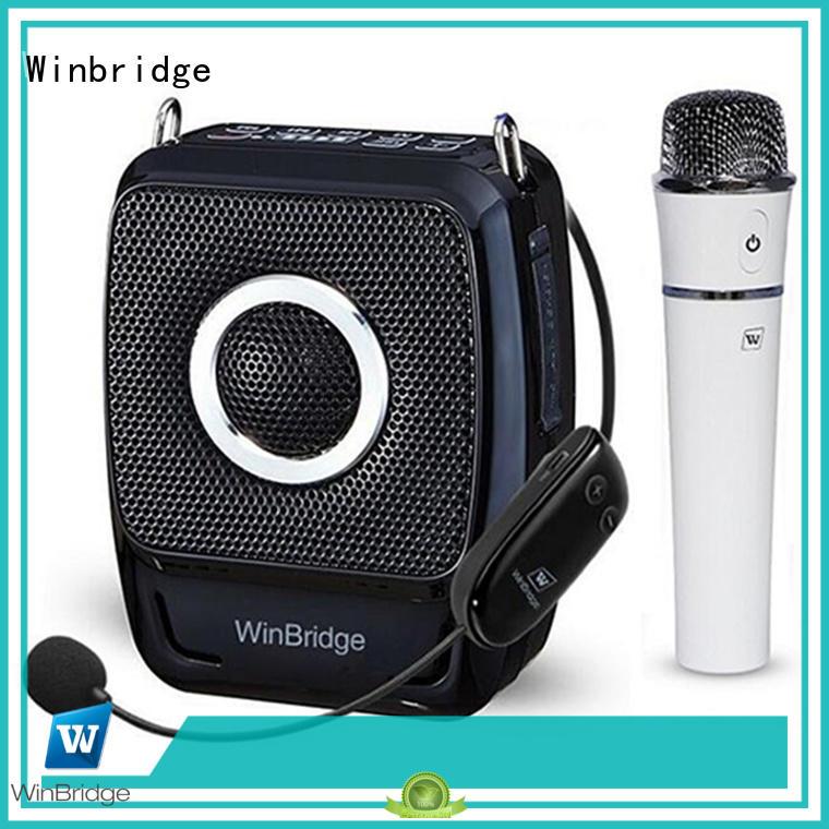 Winbridge voice amplifier wireless manufacturer for speech