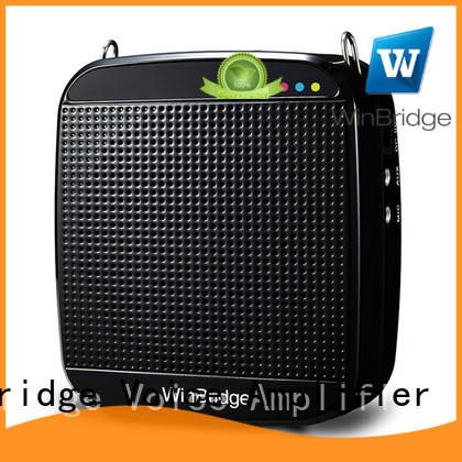 teacher voice amplifier portable microphone speaker wired microphone voice enhancer mini Winbridge Brand