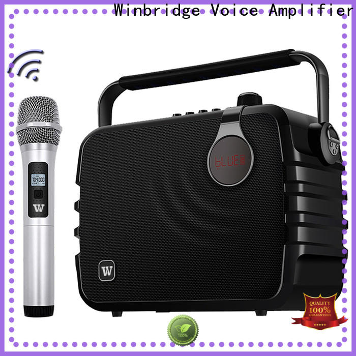 Winbridge best portable pa speakers supply for teacher