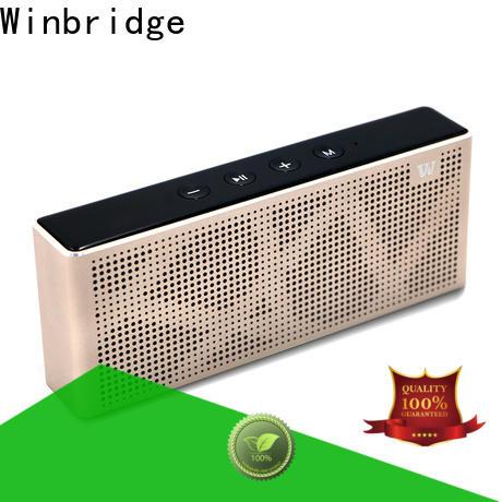 Winbridge best wireless bluetooth speakers factory for riding