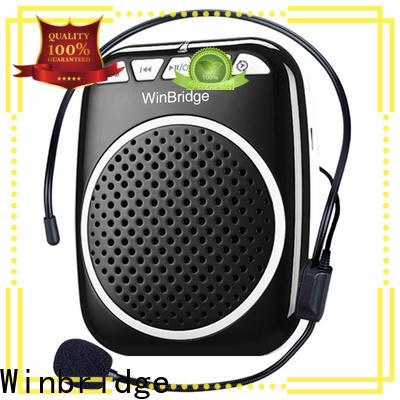 Winbridge wireless voice amplifier for teachers with waistband for teacher