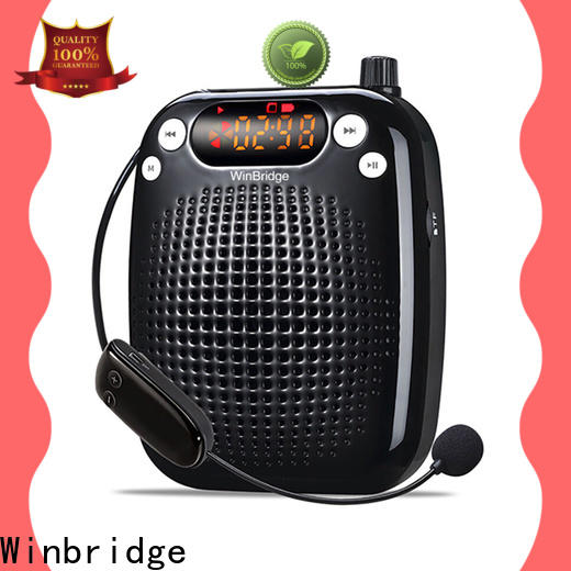 Winbridge best voice amplifier company for teacher