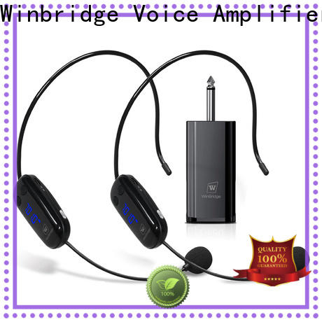 Winbridge super wireless lapel microphone for busniess for party