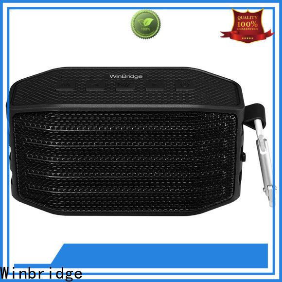 Winbridge mini best wireless bluetooth speakers supply for outdoor hiking