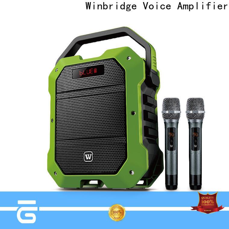 Winbridge bluetooth pa speakers factory for sale
