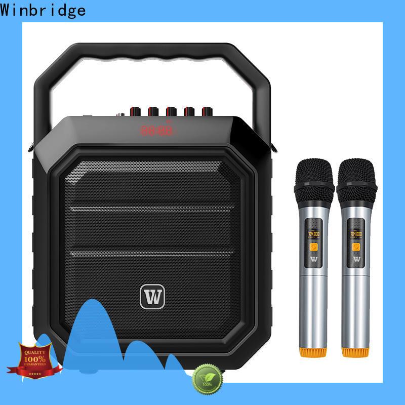 Winbridge bluetooth pa speakers supply for teacher
