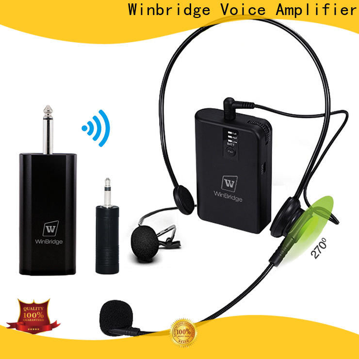 Winbridge wireless microphone headset for busniess for party