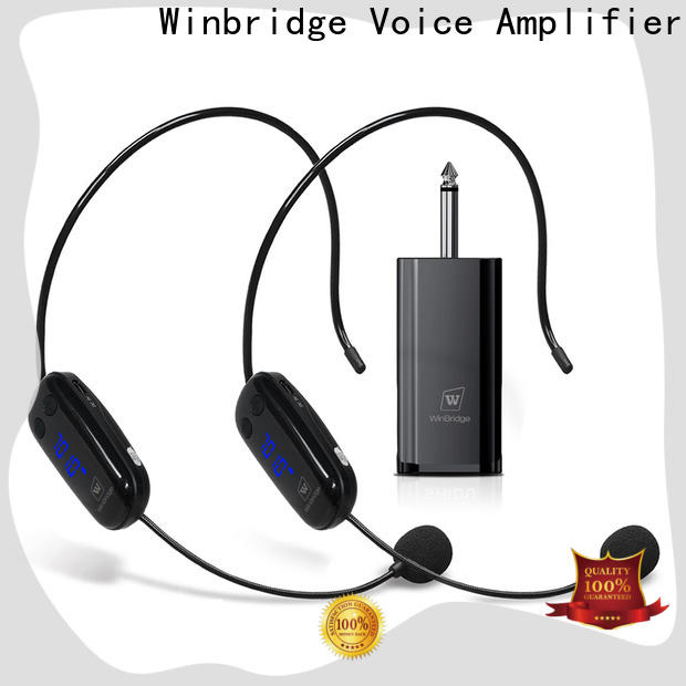 Winbridge wireless lapel microphone for busniess for party