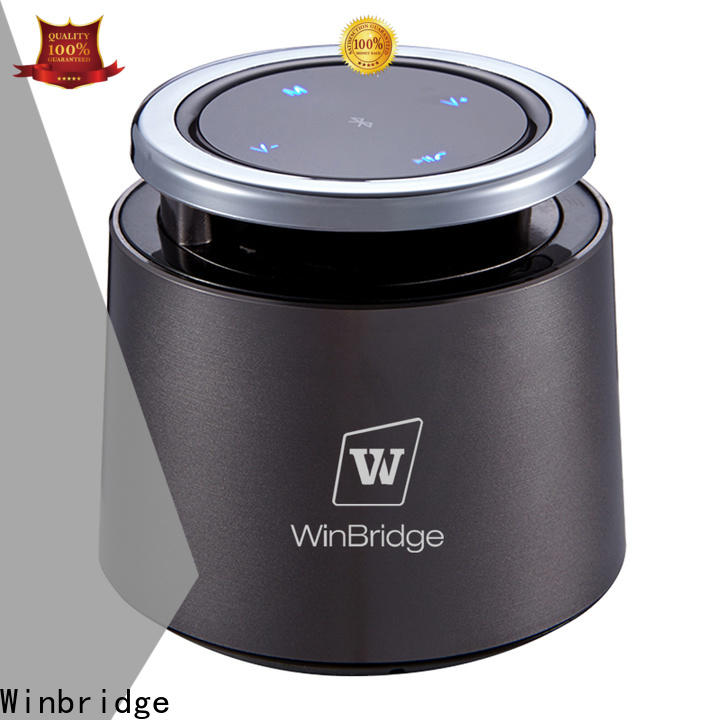 Winbridge outdoor best wireless bluetooth speakers with touch panel for outdoor hiking