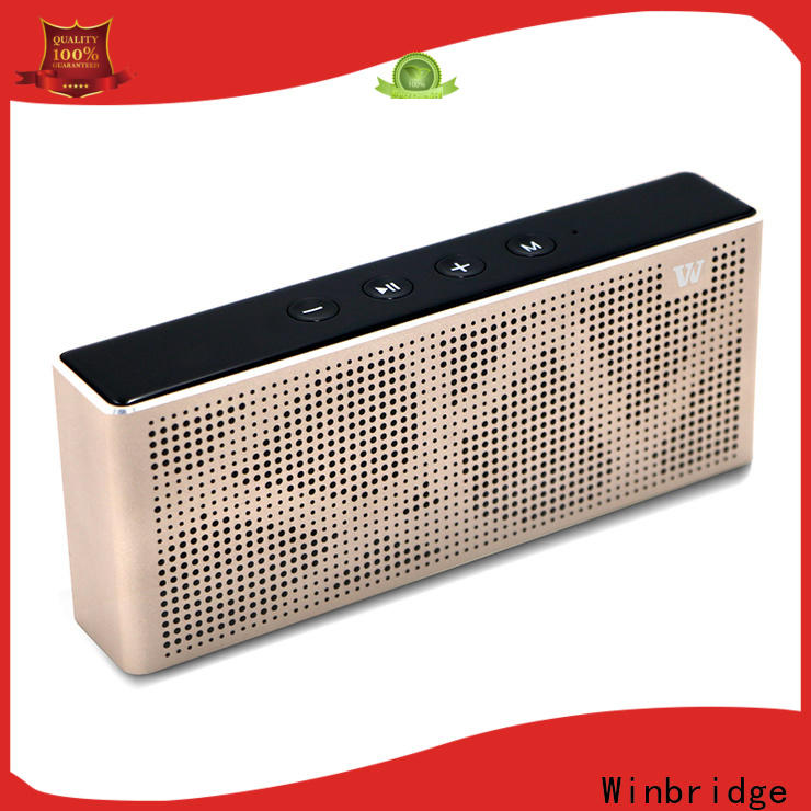 Winbridge subwoofer small bluetooth speakers company for cafe