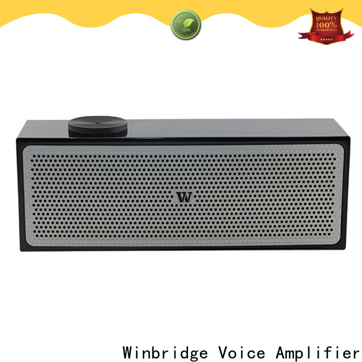 Winbridge portable bluetooth home speakers supply for cafe