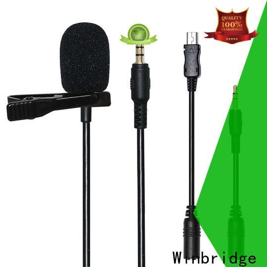 Winbridge sensitive wireless karaoke microphone for busniess for sale