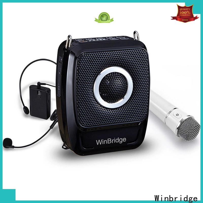 Winbridge wireless voice amplifier for teachers for busniess for teacher