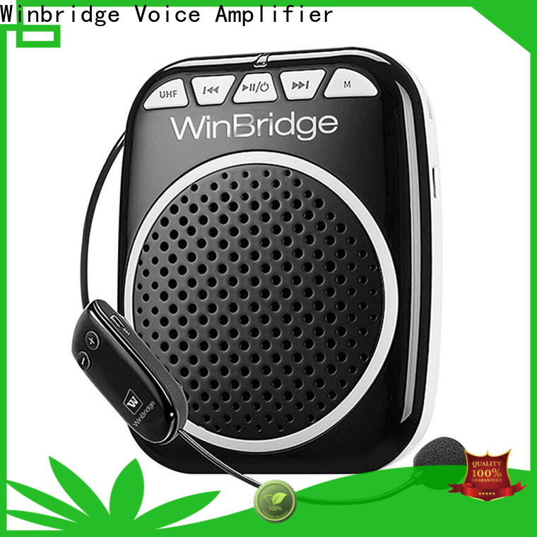 Winbridge rechargeable personal voice amplifier factory for teacher