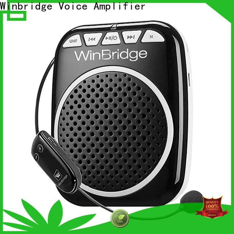 Winbridge rechargeable personal voice amplifier factory for teacher