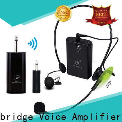 Winbridge super best wireless microphone for busniess for karaoke