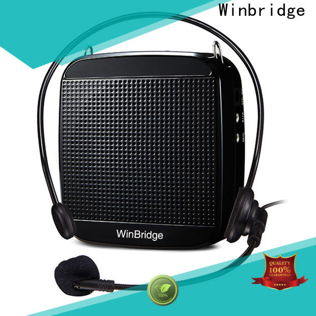 Winbridge best portable voice amplifier for teachers for busniess wholesale