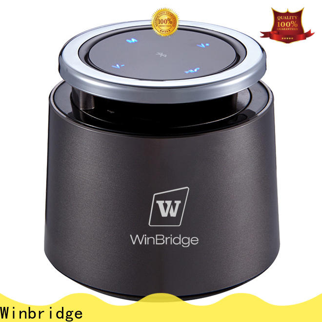 Winbridge best portable bluetooth speaker with touch panel for cafe