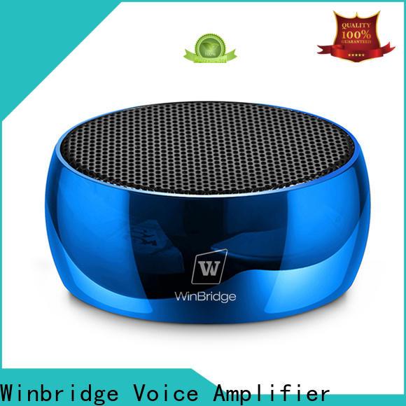 Winbridge best mini bluetooth speaker factory for home