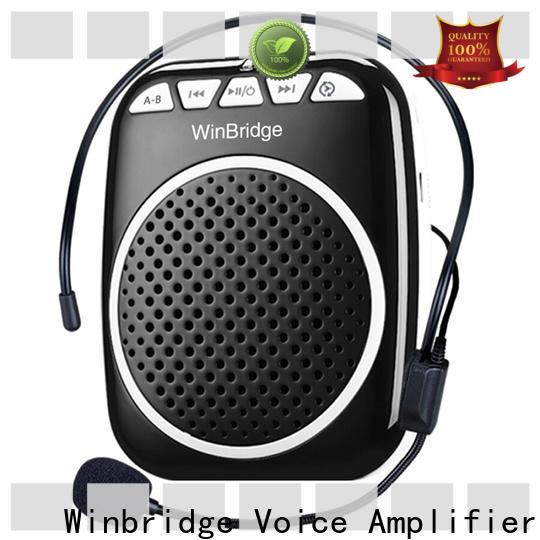 Winbridge voice amplifier wireless manufacturer for teacher