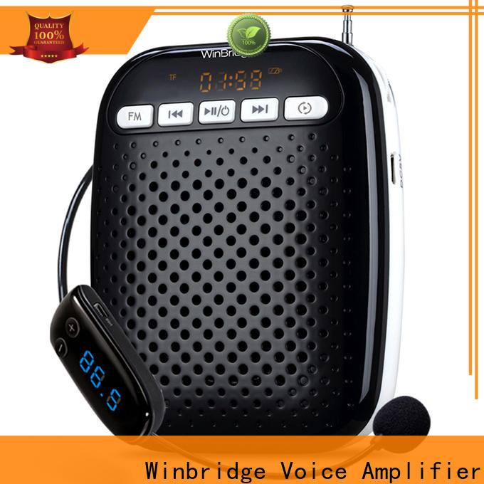 Winbridge mini voice amplifier with wireless microphone wholesale