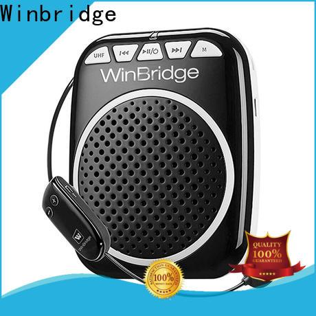Winbridge top voice amplifier wireless with headset for sale