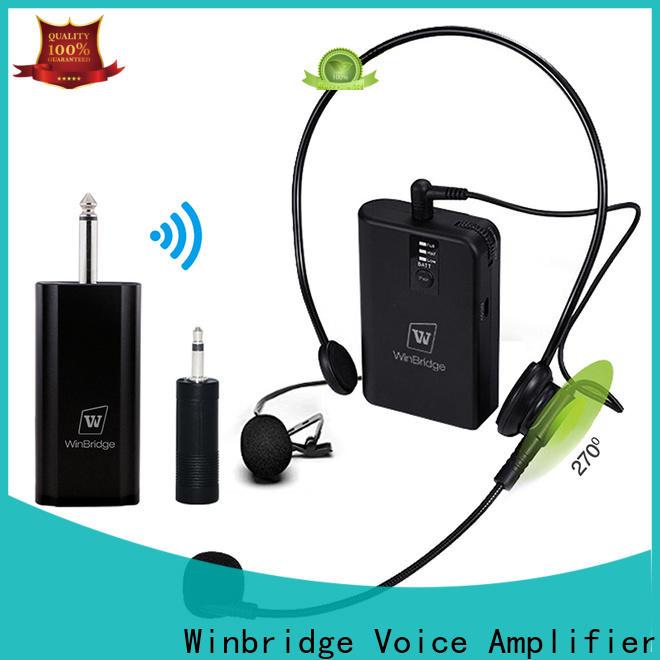 Winbridge wireless microphone system factory for speech