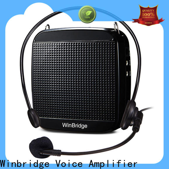 Winbridge bluetooth voice amplifier wireless factory wholesale