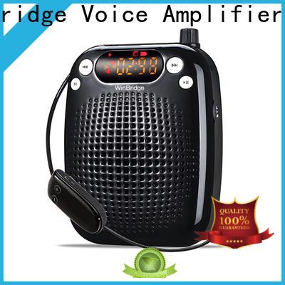 Winbridge portable best portable voice amplifier for teachers with waistband wholesale