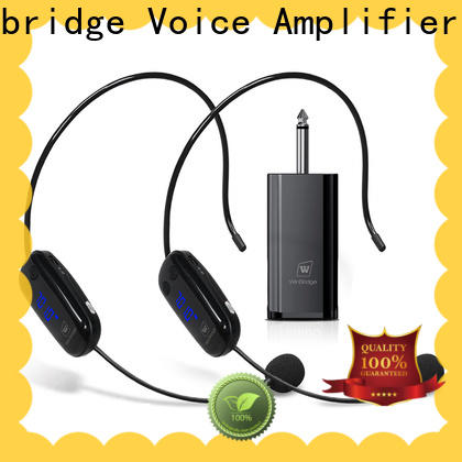 Winbridge wireless lapel microphone supplier for sale