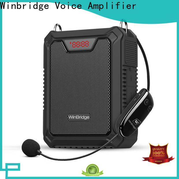 Winbridge voice amplifier for teachers company for teacher