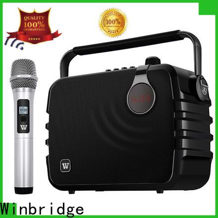Winbridge top bluetooth pa speakers manufacturers for teacher