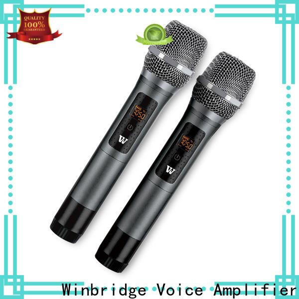 lapel wireless lapel microphone factory for karaoke