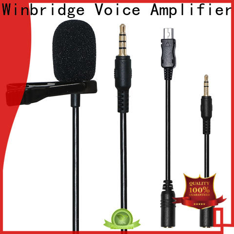 lapel wireless karaoke microphone manufacturer for sale