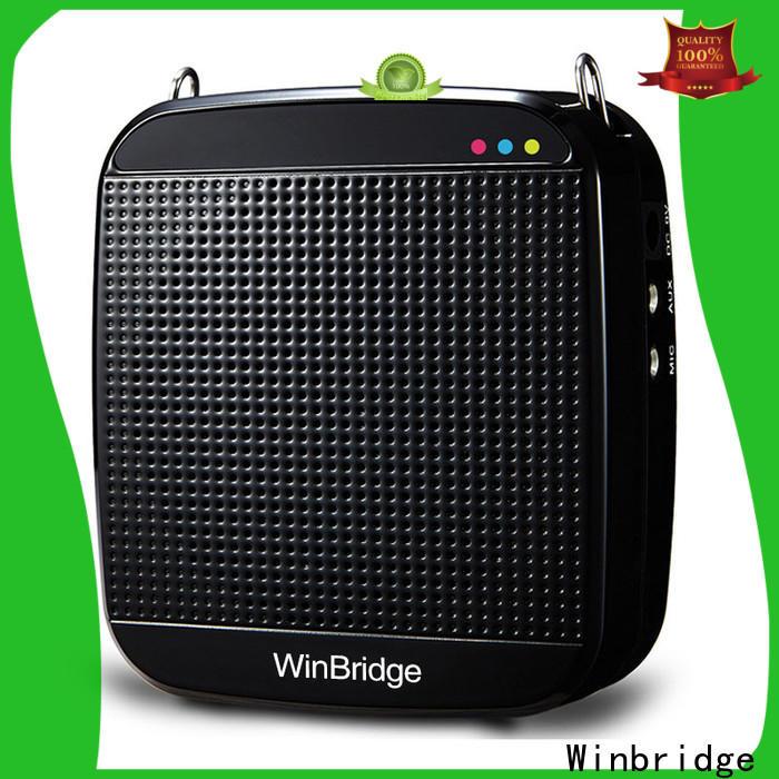 Winbridge player voice amplifier wireless company wholesale