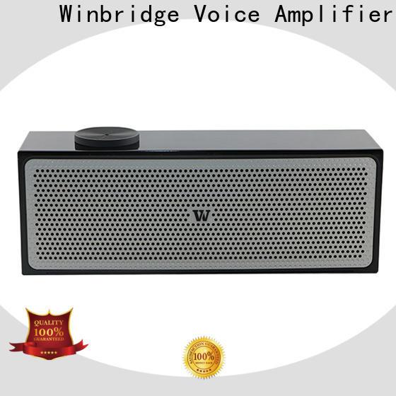 Winbridge best wireless bluetooth speakers supply for cafe