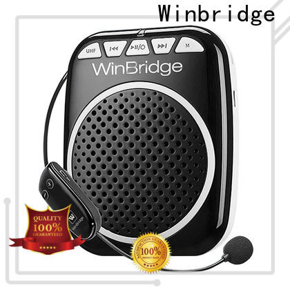 Winbridge rechargeable voice amplifier with headset for teacher