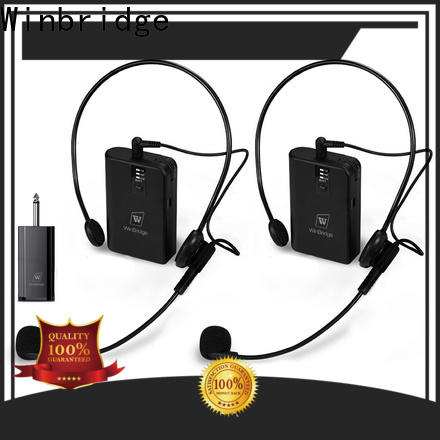 Winbridge wireless mic for busniess for speech