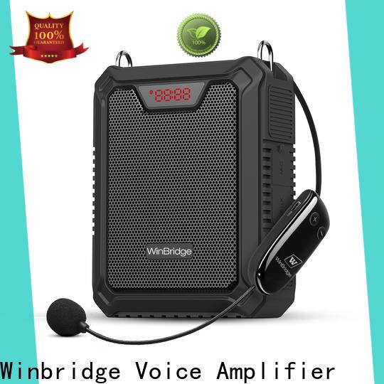 Winbridge new rechargeable voice amplifier company for teacher