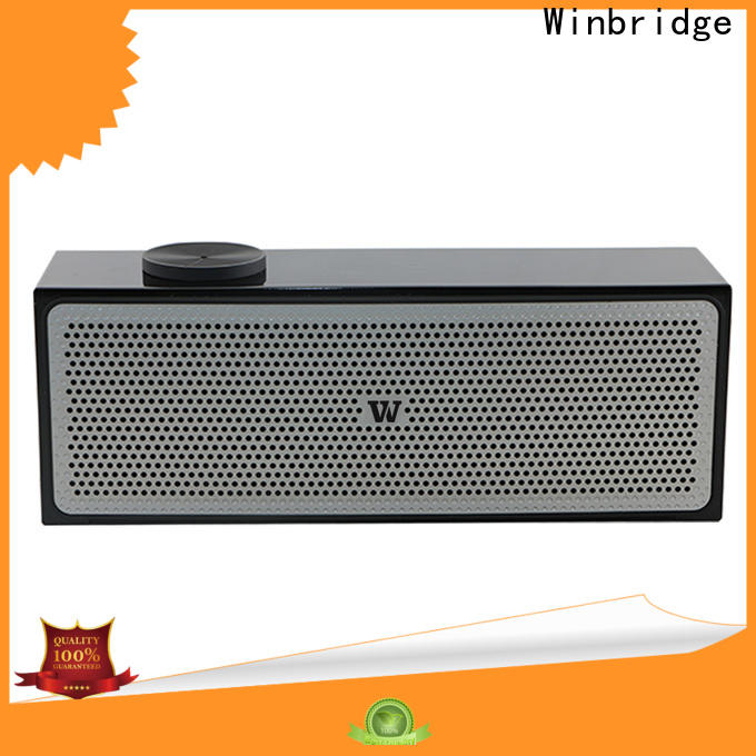 Winbridge best wireless bluetooth speakers with touch panel for cafe
