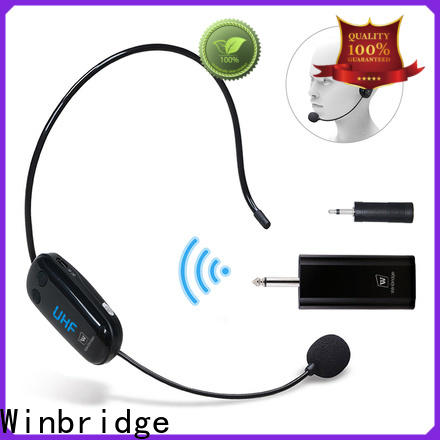 Winbridge high quality wireless microphone manufacturer for speech