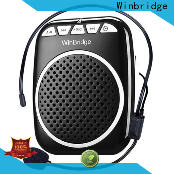 Winbridge voice amplifier with waistband for sale