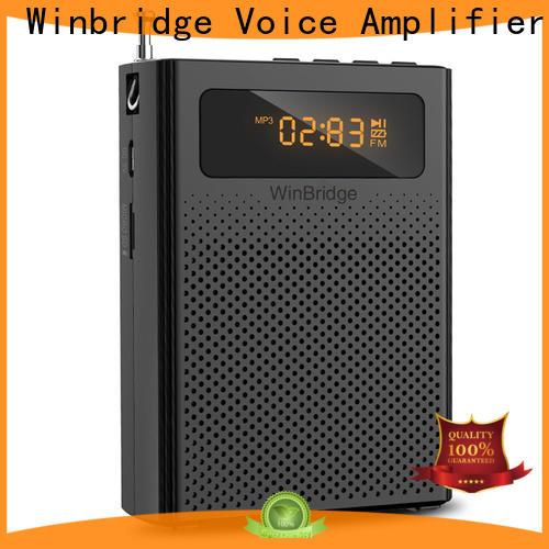 Winbridge waterproof voice enhancer factory for sale