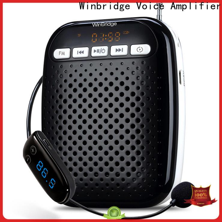 Winbridge wireless voice amplifier for teachers factory wholesale