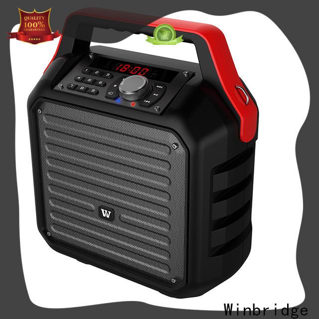Winbridge wholesale best portable pa speakers factory for speech