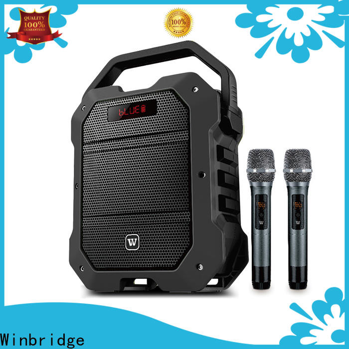 Winbridge latest best portable pa speakers factory for teacher