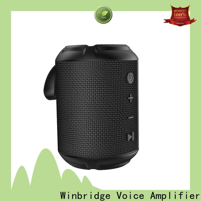 Winbridge high quality bluetooth speaker box manufacturer for home
