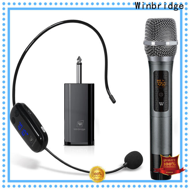 high quality wireless karaoke microphone company for speech