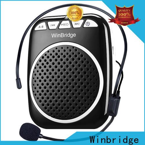 Winbridge bluetooth wireless voice amplifier for teachers with headset wholesale