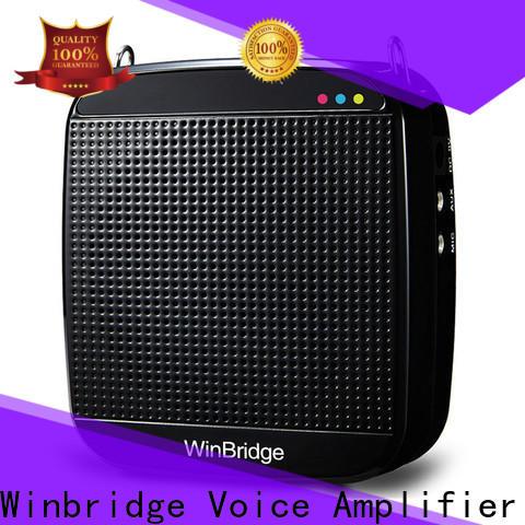 Winbridge best voice amplifier supply wholesale